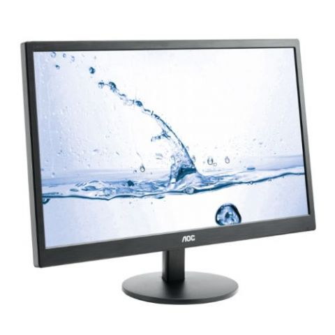 "AOC 23.6"" LED TFT (M2470SWH), 1920 x 1080, 5ms, VGA, 2 HDMI, Speakers, VESA, 3 Years On-site Warrant"